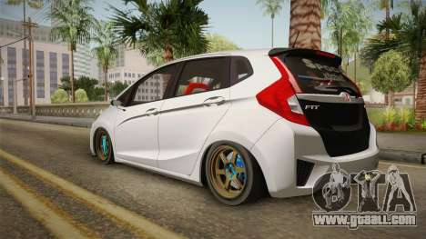 Honda Jazz GK FIT RS v2 for GTA San Andreas left view