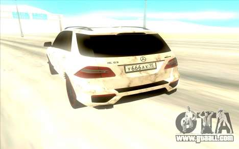 Mercedes-Benz ML63 for GTA San Andreas right view