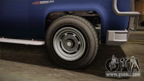 GTA 5 Vapid Bobcat S IVF for GTA San Andreas back view