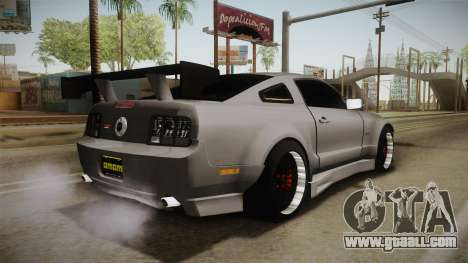 Ford Mustang Rocket JDM for GTA San Andreas left view
