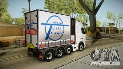 Volvo FH16 660 8x4 Convoy Heavy Weight for GTA San Andreas left view