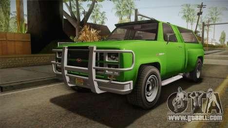 GTA 5 Vapid Bobcat S for GTA San Andreas