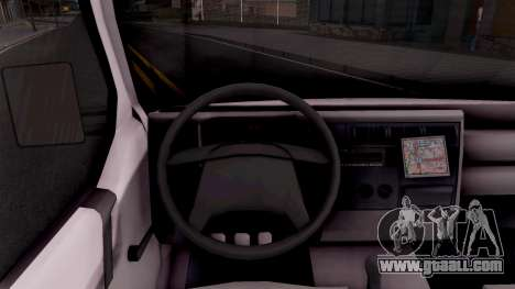 Volkswagen Transporter T4 Special for GTA San Andreas inner view