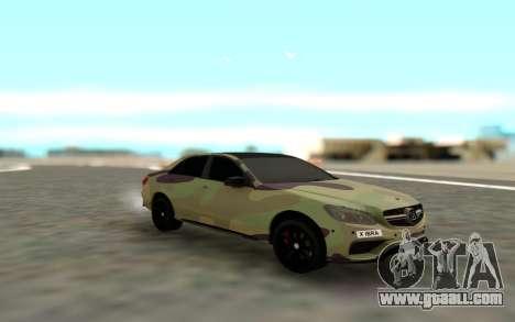 Brabus S63 for GTA San Andreas