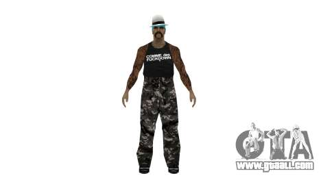 Full pack of skins Ghetto for GTA San Andreas fifth screenshot