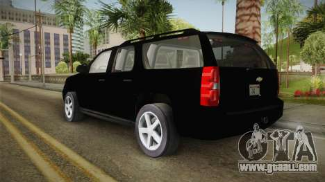 Chevrolet Suburban 2009 Flashpoint for GTA San Andreas left view