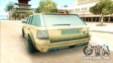 Range Rover Arden Design for GTA San Andreas right view