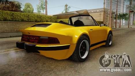 GTA 5 Pfister Comet Retro Cabrio for GTA San Andreas left view