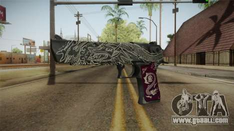 CS:GO - Desert Eagle Kumicho Dragon for GTA San Andreas
