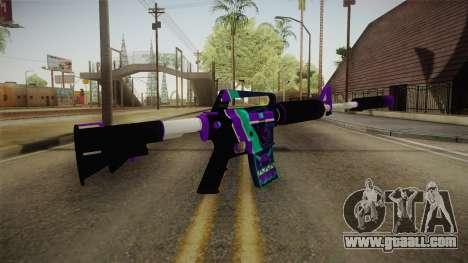 CS:GO - M4A1-S Lince for GTA San Andreas third screenshot