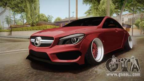 Mercedes-Benz CLA 45 AMG WideBody 2014 for GTA San Andreas right view