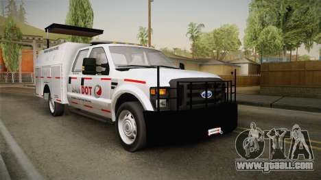 Ford F-250 2012 SA DOT Highway Helper for GTA San Andreas