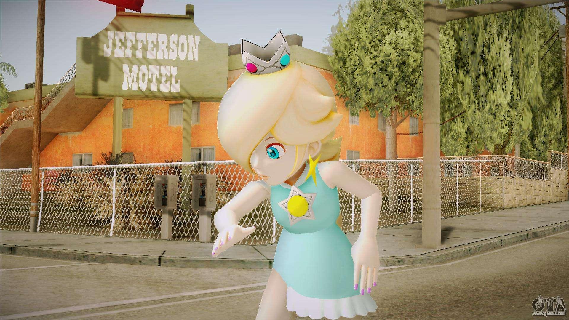 Mario Tennis - Rosalina for GTA San Andreas