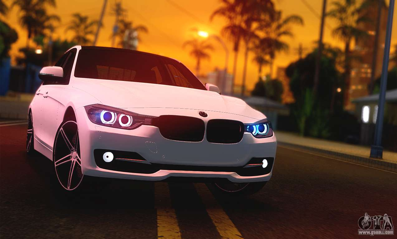 bmw f30 335i light tuning for gta san andreas. Black Bedroom Furniture Sets. Home Design Ideas