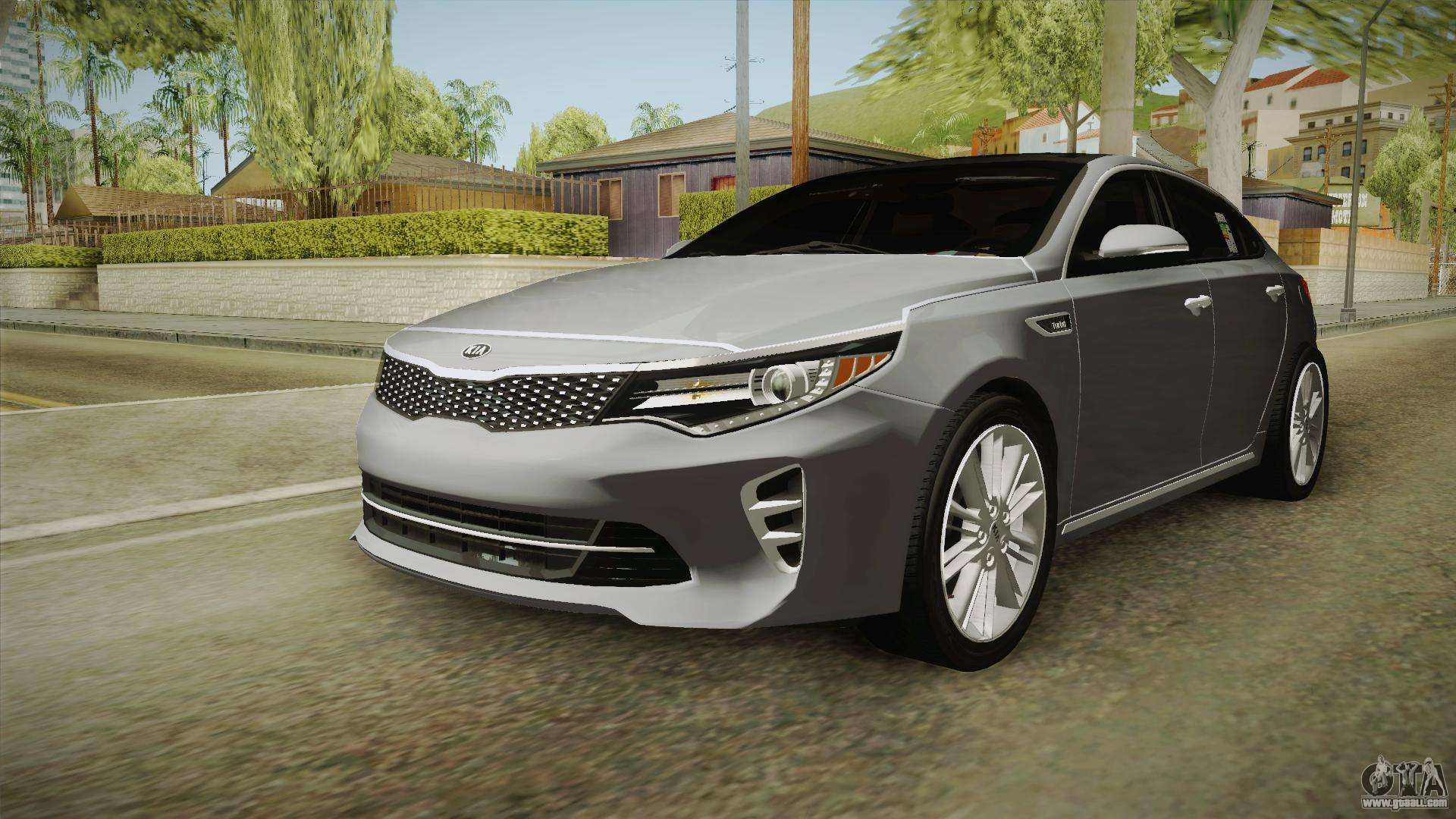 kia optima 2016 for gta san andreas. Black Bedroom Furniture Sets. Home Design Ideas
