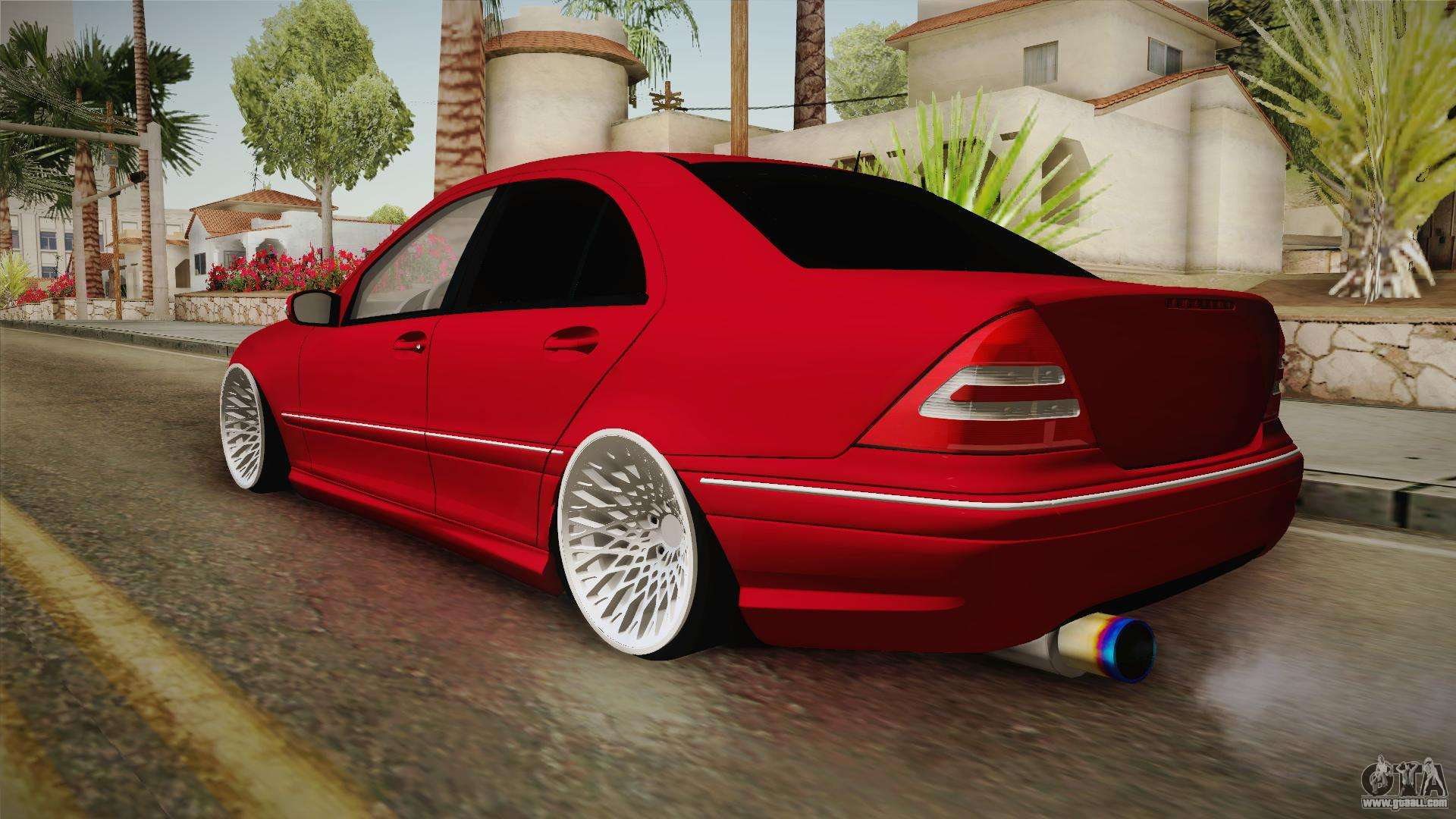 Mercedes Benz C32 Amg Stanced For Gta San Andreas