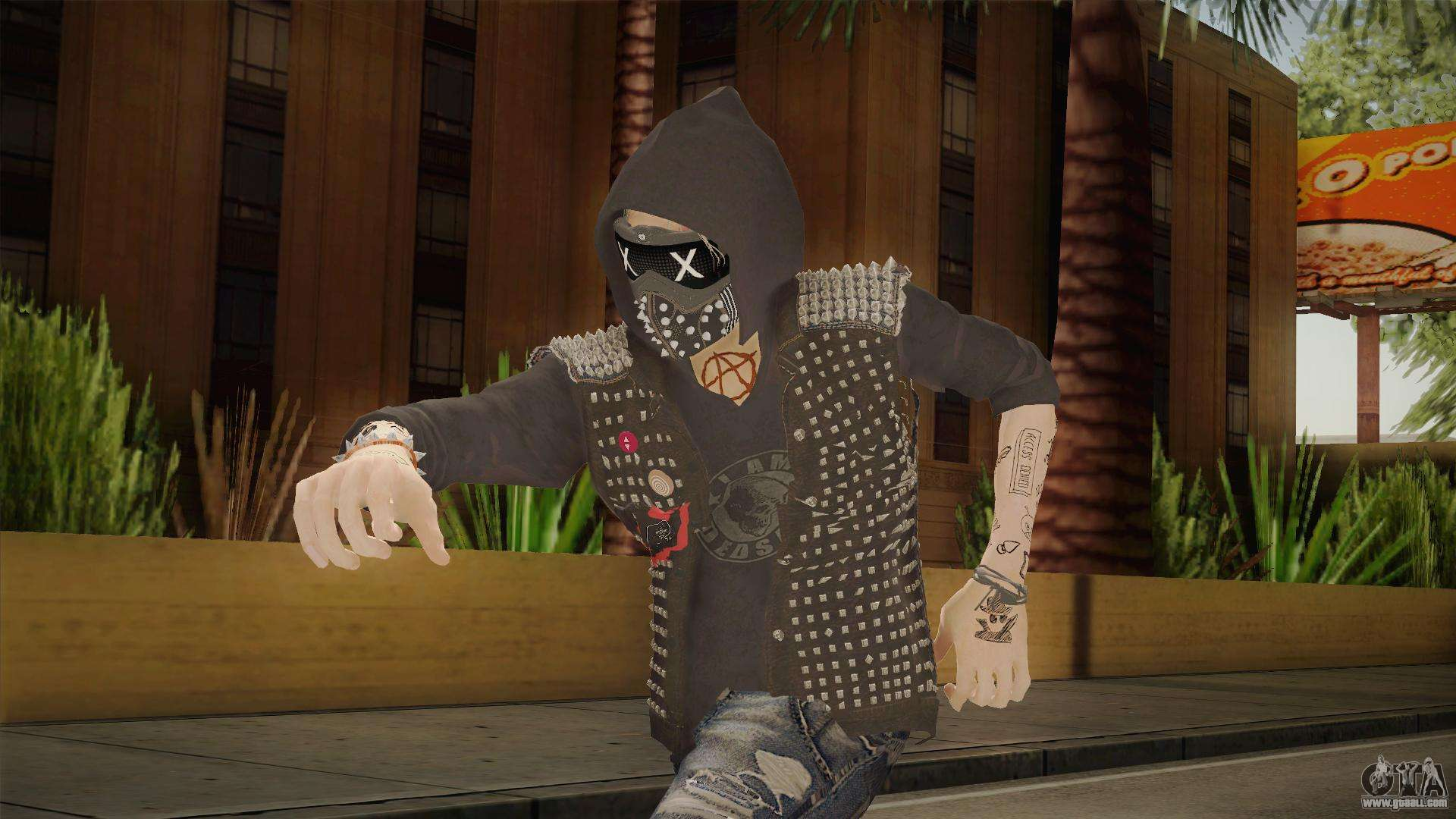 Watch Dogs Wrench Gif