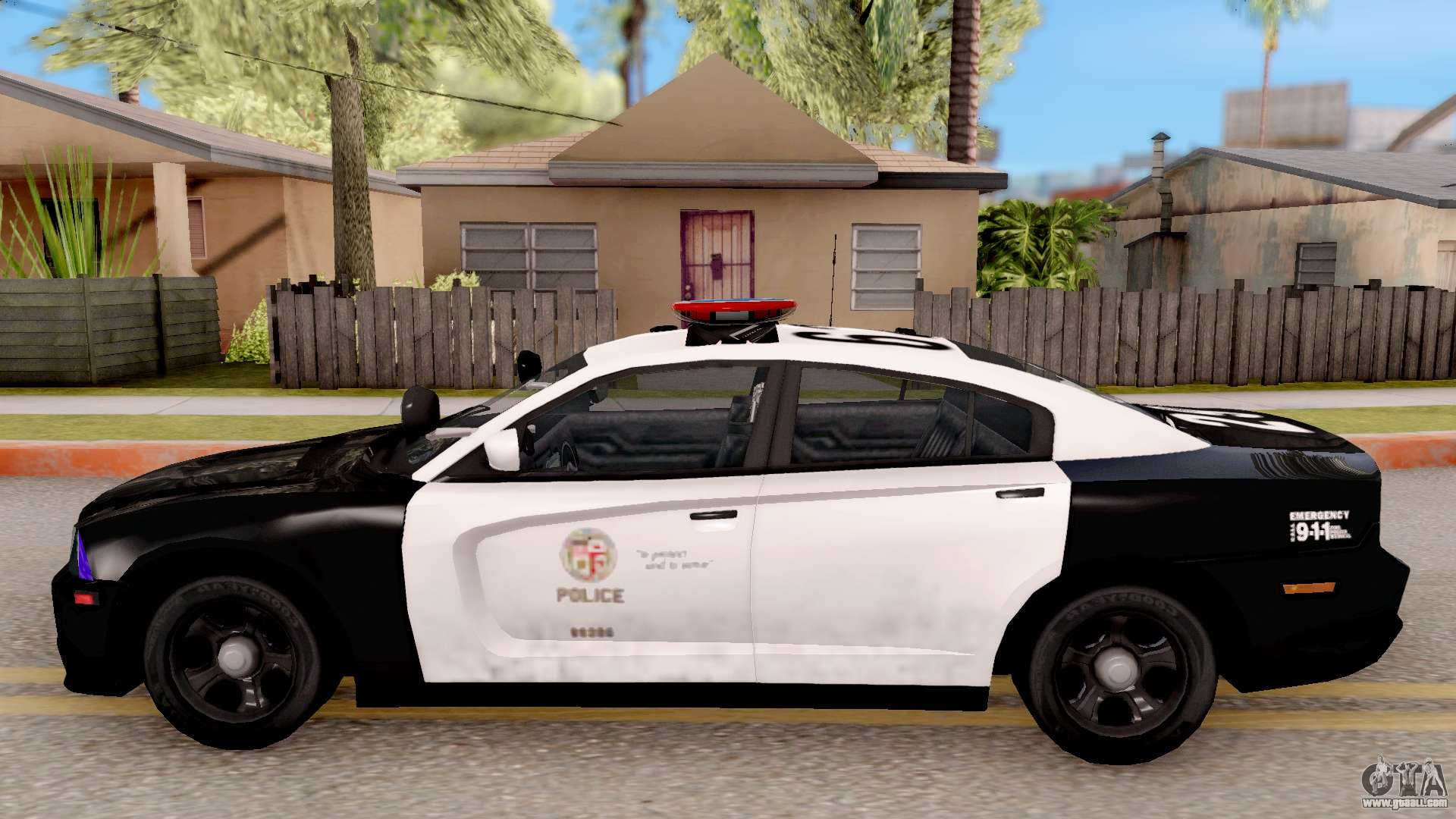 dodge charger police interceptor for gta san andreas. Black Bedroom Furniture Sets. Home Design Ideas