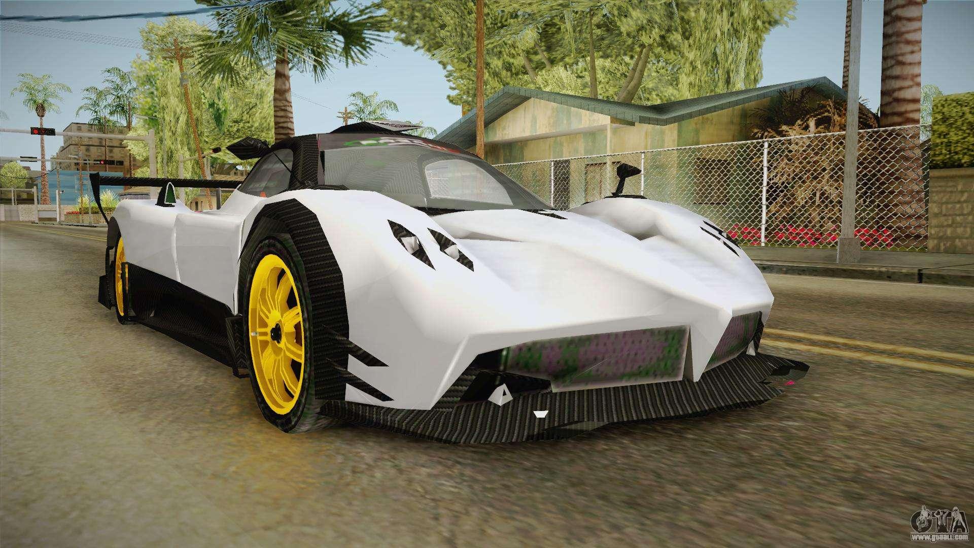 Pagani for GTA San Andreas