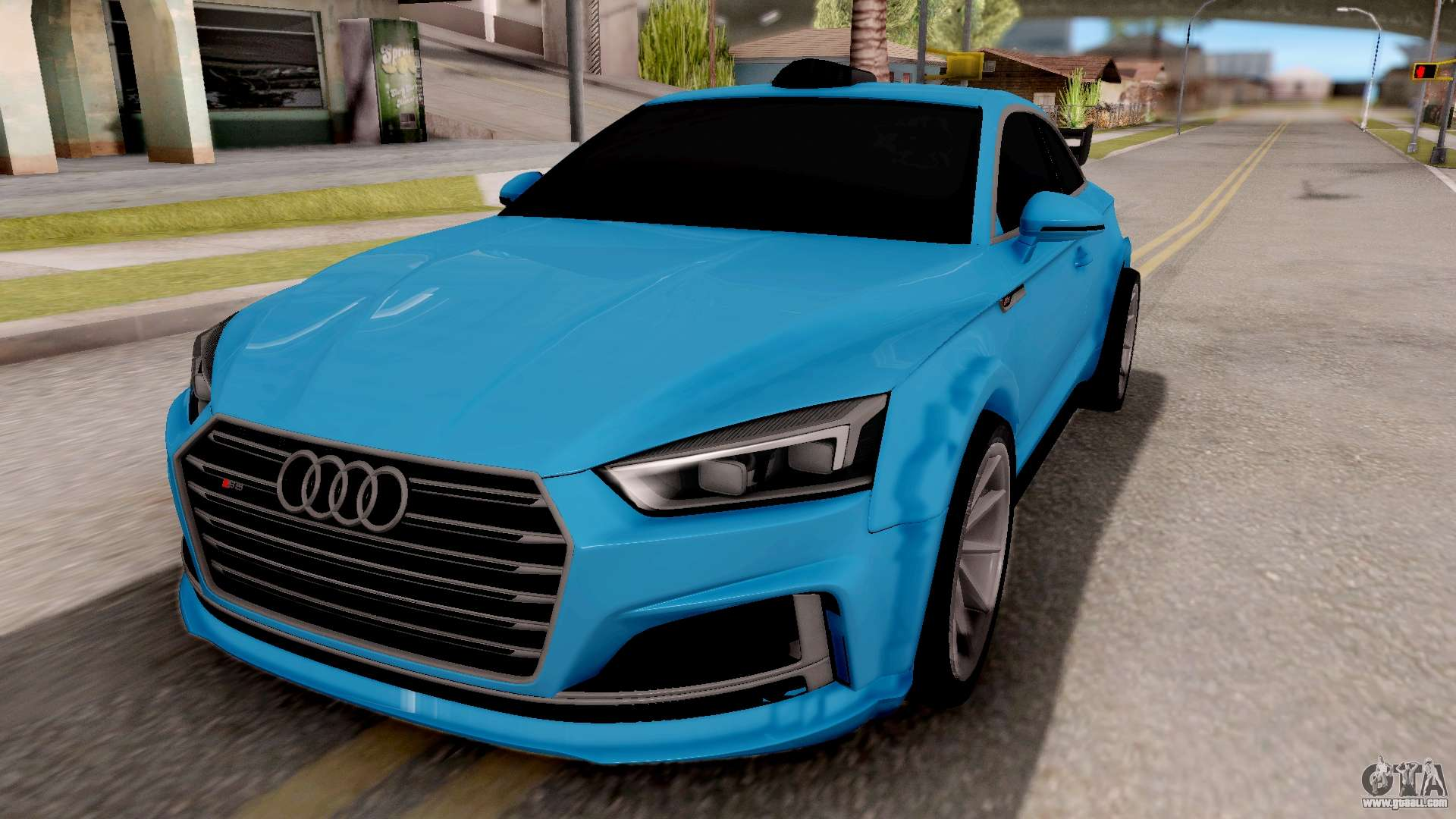 audi s5 2017 tuning for gta san andreas. Black Bedroom Furniture Sets. Home Design Ideas