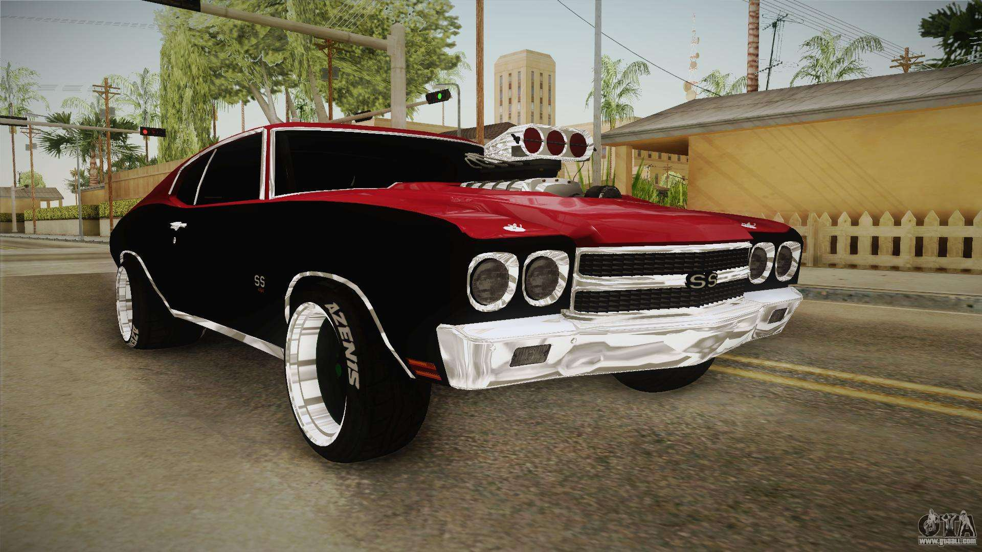Chevrolet Chevelle Ss 1970 Drag Racing Tuned For Gta San