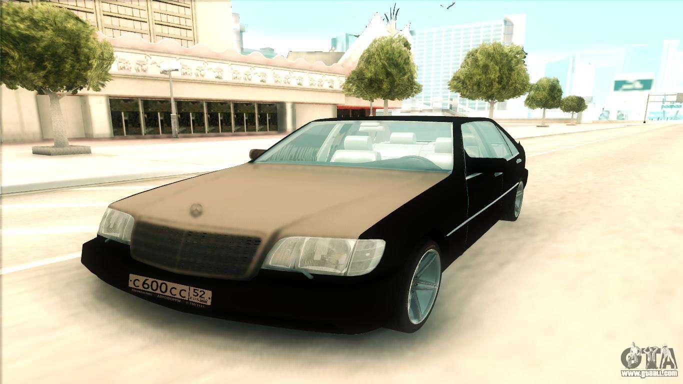Mercedes Benz 600 Sel For Gta San Andreas