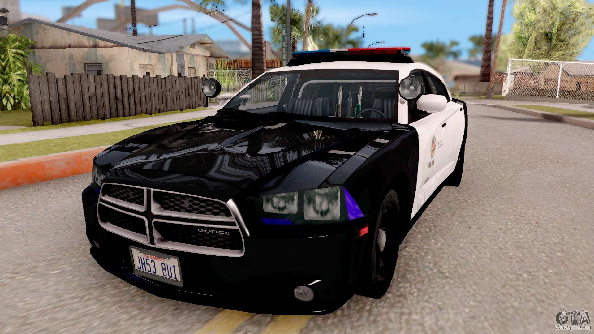 Dodge Charger Police Interceptor For Gta San Andreas