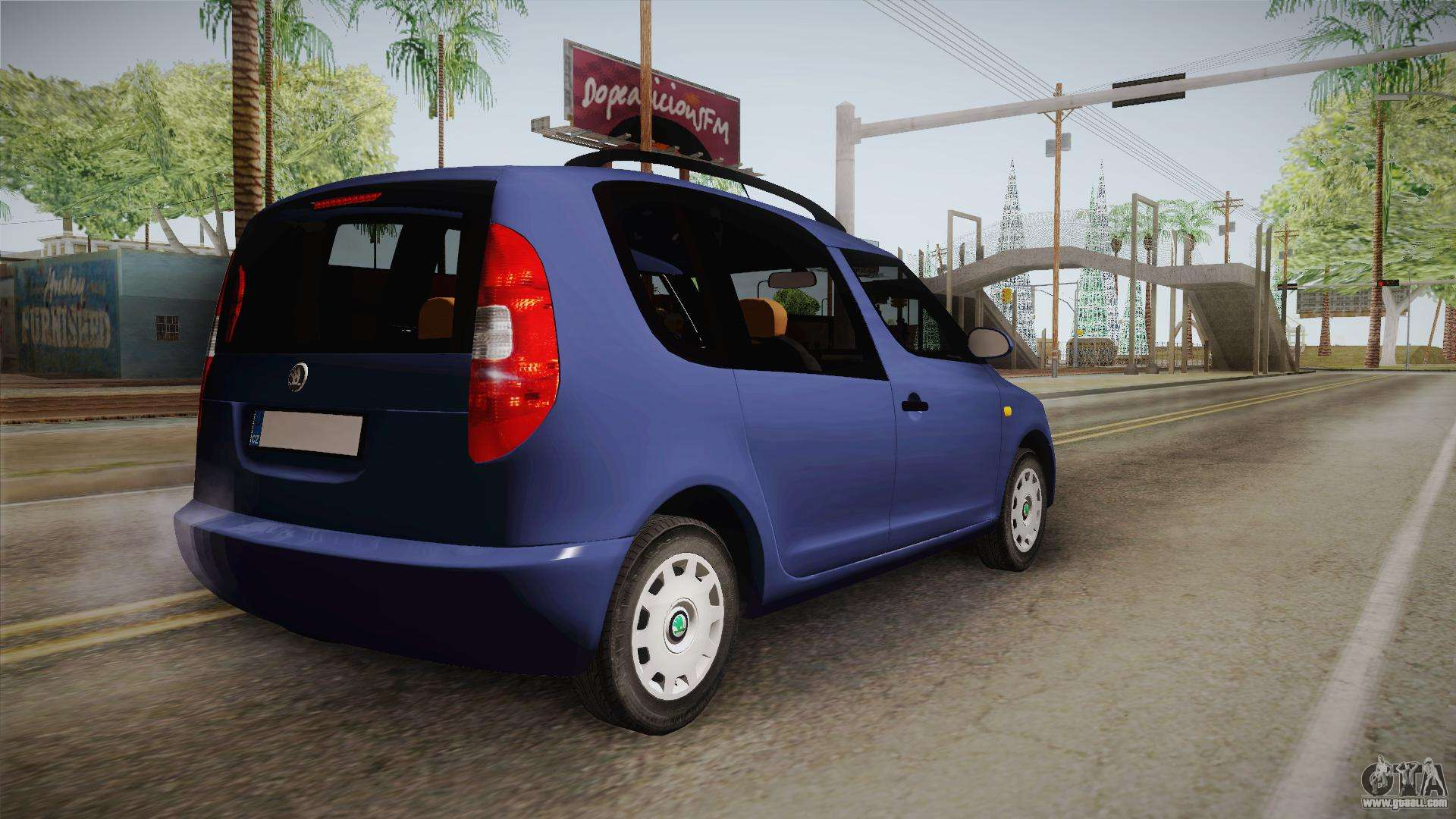 skoda roomster for gta san andreas. Black Bedroom Furniture Sets. Home Design Ideas