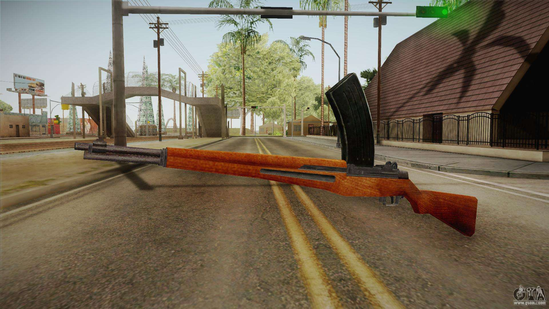 Japanese Type 104 Battle Rifle For Gta San Andreas