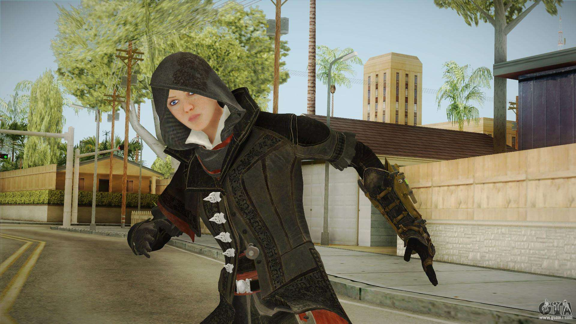 Ac Syndicate Evie Frye For Gta San Andreas