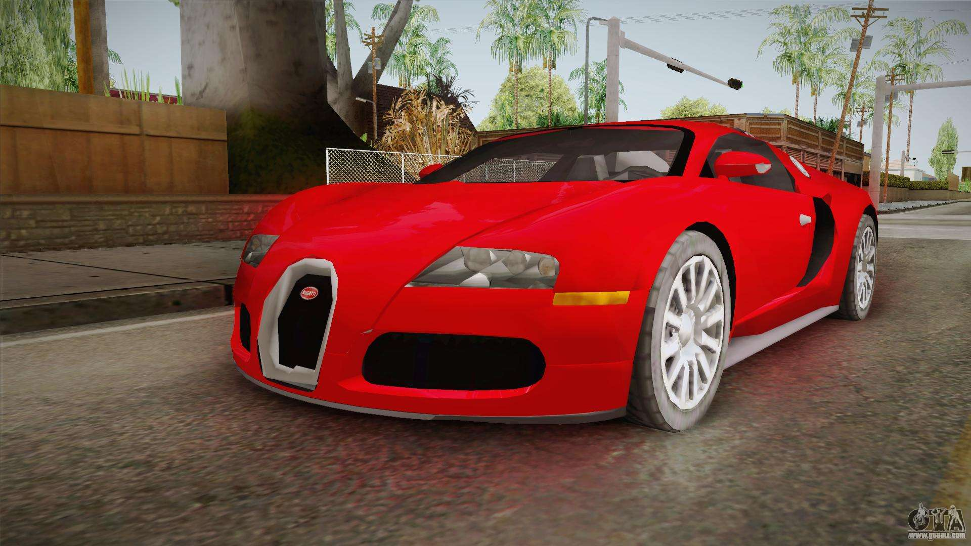 bugatti veyron for gta san andreas. Black Bedroom Furniture Sets. Home Design Ideas