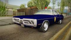 Plymouth Fury 1969 Kansas State Police for GTA San Andreas