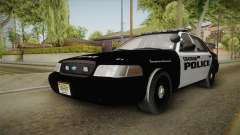 Ford Crown Victoria 2009 Chatham, New Jersey PD for GTA San Andreas