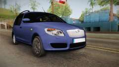 Skoda Roomster for GTA San Andreas