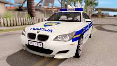 BMW M5 E60 Croatian Police Car for GTA San Andreas