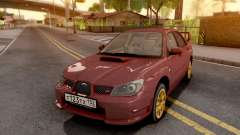Subaru Impreza WRX STI 2006 for GTA San Andreas