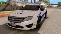 Ford Fusion 2011 Turkish Police for GTA San Andreas