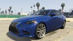 Lexus IS350 F-Sport 2014 for GTA 5