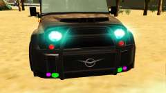 New color for the headlights for GTA San Andreas