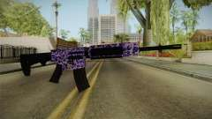 Tiger Violet M4 for GTA San Andreas