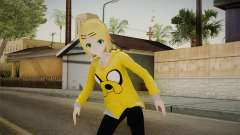 Hoodie Rin Kagamine for GTA San Andreas