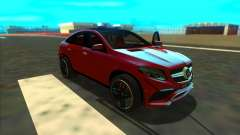 Mercedes-Benz GLE 63 AMG 2017 for GTA San Andreas