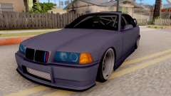 BMW M3 E36 Stanced for GTA San Andreas