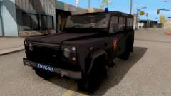 Land Rover Defender Gendarmerie, Which