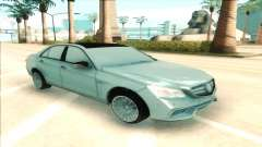 Mercedes-Benz E63 AMG silver for GTA San Andreas