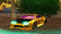 Mitsubishi Eclipse GST 1999 for GTA San Andreas