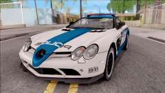Mercedes-Benz McLaren 722 High Speed Police for GTA San Andreas