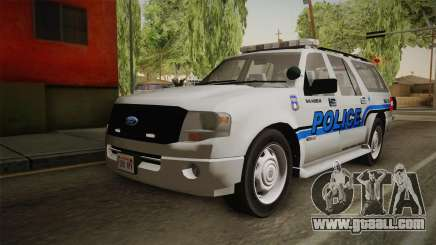 Ford Expedition 2013 SAWPD for GTA San Andreas