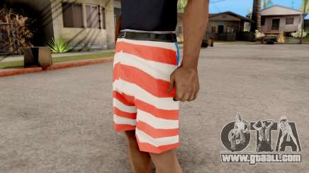 USA Shorts for GTA San Andreas