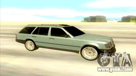 Mercedes-Benz W124 Wago for GTA San Andreas